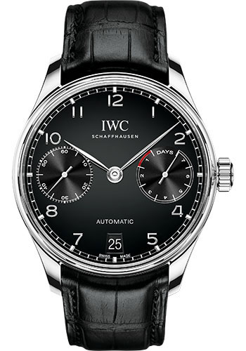 IWC Watches - Portuguese Automatic - Stainless Steel - Style No: IW500703
