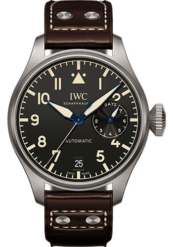 IWC Watches - Pilots Watch Big Pilots Heritage - Style No: IW501004