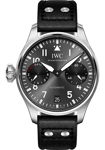 IWC Watches - Pilots Watch Big Pilots Edition Right-Hander - Style No: IW501012