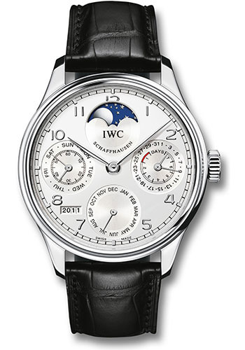 IWC Watches - Portuguese Perpetual Calendar - Platinum - Style No: IW502305