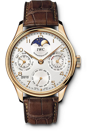 IWC Watches - Portuguese Perpetual Calendar - Red gold - Style No: IW502306