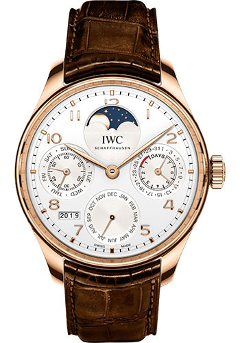 IWC Watches - Portuguese Perpetual Calendar - Red Gold - Style No: IW503302