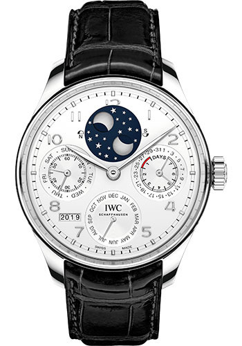 IWC Watches - Portuguese Perpetual Calendar - Platinum - Style No: IW503406