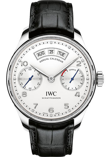 IWC Watches - Portuguese Annual Calendar - Stainless Steel - Style No: IW503501