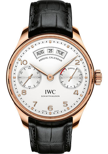 IWC Watches - Portuguese Annual Calendar - Red Gold - Style No: IW503504