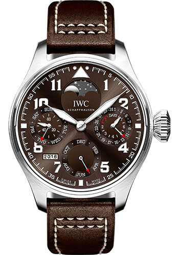 IWC Watches - Pilots Watch Big Pilots Watch Perpetual Calendar Edition Antoine de Saint Exupery - Style No: IW503801