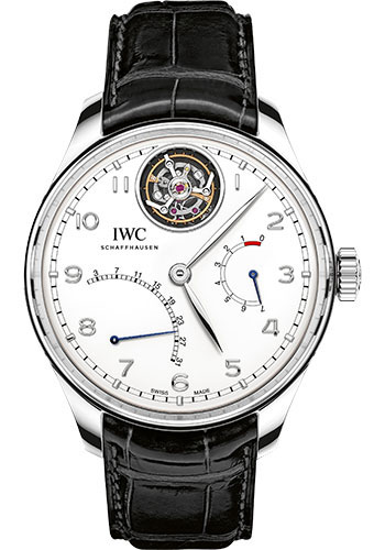 IWC Watches - Portuguese Tourbillon Mystere Retrograde - Style No: IW504601