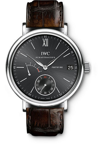 IWC Watches - Portofino Hand-Wound Eight Days - Stainless Steel - Style No: IW510102
