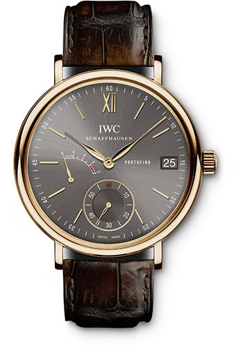 IWC Watches - Portofino Hand-Wound Eight Days - Red Gold - Style No: IW510104