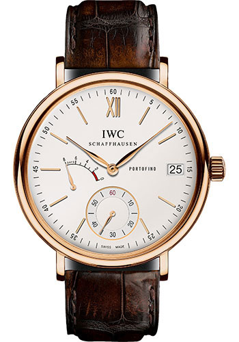 IWC Watches - Portofino Hand-Wound Eight Days - Red Gold - Style No: IW510107