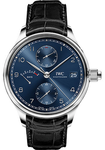 IWC Watches - Portuguese Hand-Wound Monopusher Edition Laureus Sport for Good - Stainless Steel - Style No: IW515301