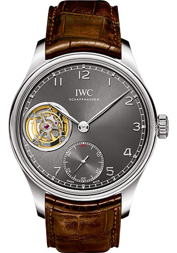 IWC Watches - Portuguese Tourbillon Hand-Wound - Style No: IW546301