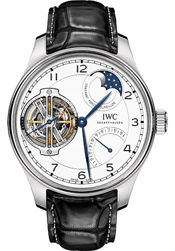 IWC Watches - Portuguese Constant-Force Tourbillon - Platinum - Style No: IW590202
