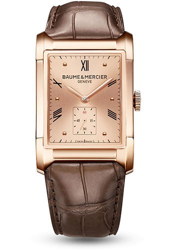 Baume & Mercier Watches - Hampton Red Gold Automatic - Style No: M0A10033