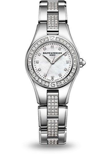 Baume & Mercier Watches - Linea 27mm Stainless Steel - Style No: M0A10092