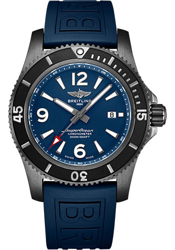 Breitling Watches - Superocean Automatic 46mm - Black Steel - Style No: M17368D71C1S2