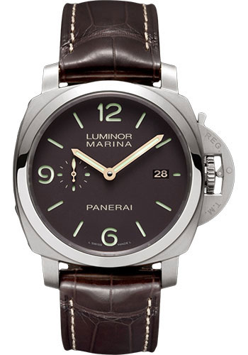 Panerai Watches - Luminor Marina 1950 3 Days Automatic - 44mm - Titanium - Style No: PAM00351