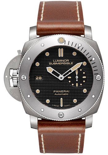 Panerai Watches - Luminor Submersible 1950 Left-Handed 3 Days Automatic - Style No: PAM00569