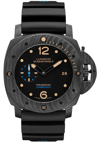 Panerai Watches - Luminor Submersible 1950 Carbotech 3 Days Automatic - Style No: PAM00616