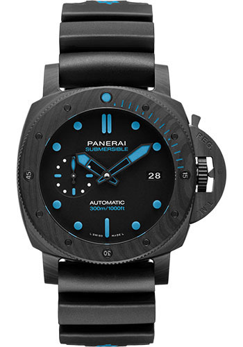 Panerai Watches - Submersible Carbotech - 42mm - Style No: PAM00960