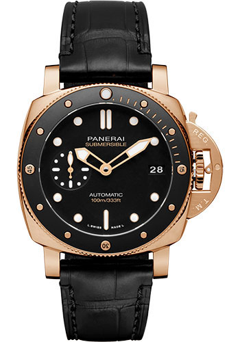 Panerai Watches - Submersible 42mm - Style No: PAM00974