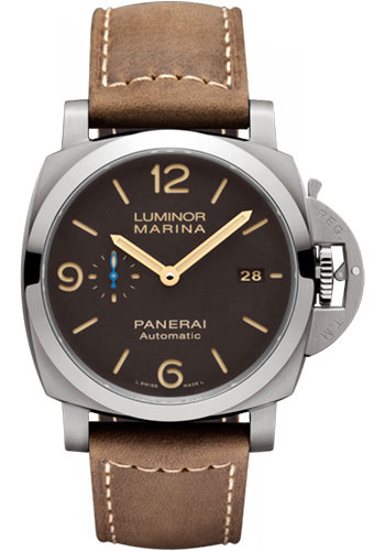 Panerai Watches - Luminor Marina 1950 3 Days Automatic - 44mm - Titanium - Style No: PAM01351