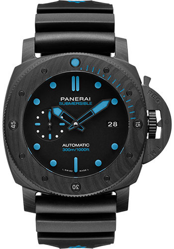 Panerai Watches - Submersible Carbotech - 47mm - Style No: PAM01616