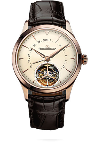 Jaeger-LeCoultre Watches - Master Control Date Tourbillon 39 - Style No: Q1652410