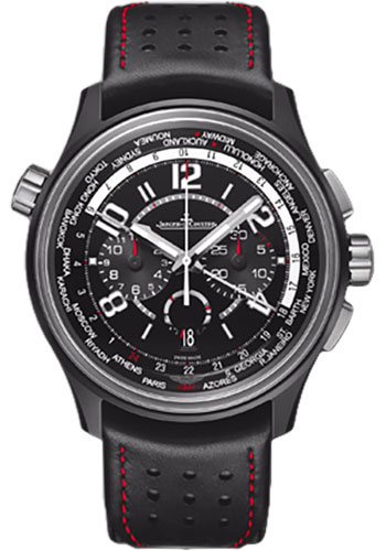 Jaeger-LeCoultre Watches - AMVOX AMVOX5 World Chronograph Cermet - Style No: Q193A470
