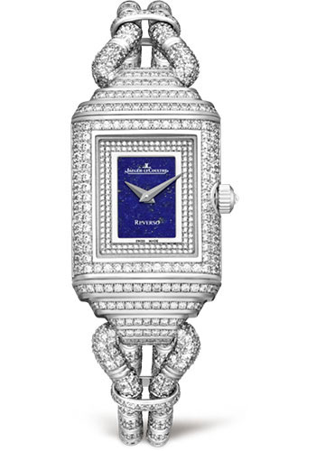 Jaeger-LeCoultre Watches - Reverso Joaillerie Cordonnet Duetto - Style No: Q2213399