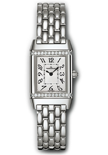 Jaeger-LeCoultre Watches - Reverso Joaillerie Lady Steel - Style No: Q2648140