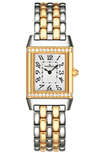 Jaeger-LeCoultre Watches - Reverso Joaillerie Lady Steel And Gold - Style No: Q2655130