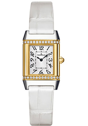 Jaeger-LeCoultre Watches - Reverso Joaillerie Lady Steel And Gold - Style No: Q2655430