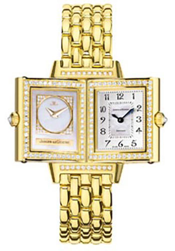 Jaeger-LeCoultre Watches - Reverso Joaillerie Duetto Yellow Gold - Style No: Q2661101