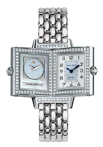 Jaeger-LeCoultre Watches - Reverso Joaillerie Duetto White Gold - Style No: Q2663101