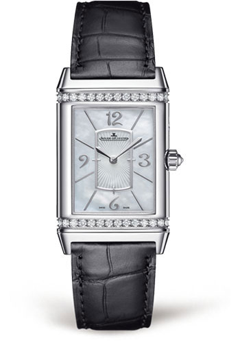 Jaeger-LeCoultre Watches - Reverso Joaillerie Grande Reverso Lady Ultra Thin Duetto Duo - Style No: Q3313490
