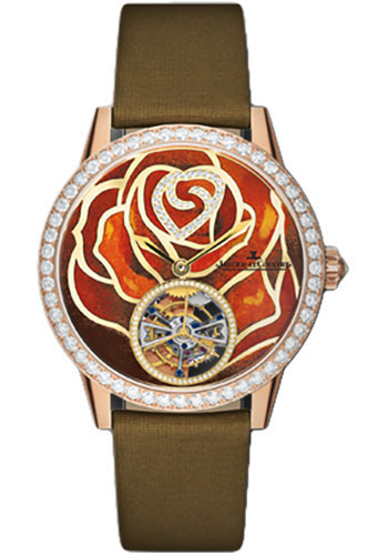 Jaeger-LeCoultre Watches - Rendez-Vous Joaillerie And Complications Tourbillon Enamel - Style No: Q34124E3
