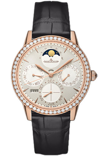 Jaeger-LeCoultre Watches - Rendez-Vous Joaillerie And Complications Perpetual Calendar - Style No: Q3492420