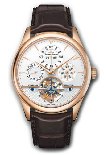 Jaeger-LeCoultre Watches - Master Grande Tradition Tourbillon - Style No: Q500242A