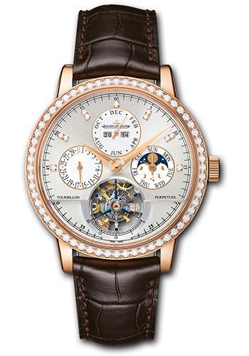 Jaeger-LeCoultre Watches - Master Grande Tradition Tourbillon Cylindrique a Quantieme Perpetuel - Style No: Q5042501