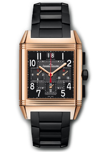 Jaeger-LeCoultre Watches - Reverso Squadra Chronograph GMT Black - Style No: Q7012671