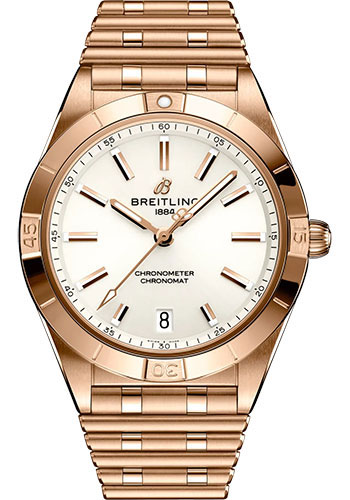 Breitling Watches - Chronomat Automatic 36 18K Red Gold - Metal Bracelet - Style No: R10380101A1R1