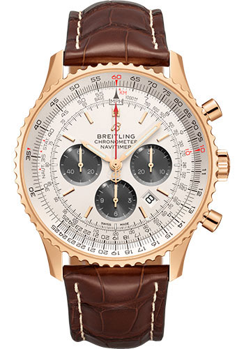 Breitling Watches - Navitimer B01 Chronograph 46mm - Red Gold - Style No: RB0127121G1P2