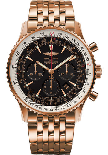 Breitling Watches - Navitimer 01 46mm - Red Gold - Navitimer Bracelet - Style No: RB0127E6/BF16/443R