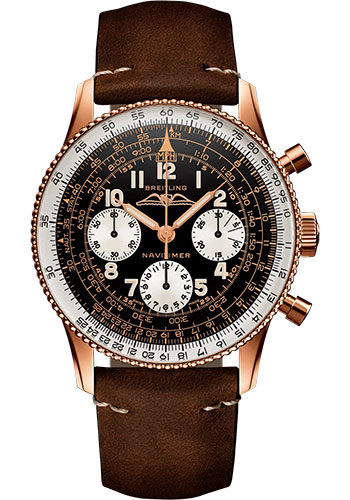 Breitling Watches - Ref 806 1959 Re Edition - Style No: RB0910371B1X1