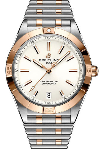 Breitling Watches - Chronomat Automatic 36 Steel and Red Gold - Metal Bracelet - Style No: U10380101A1U1