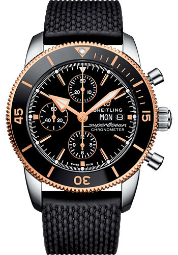 Breitling Watches - Superocean Heritage II 44mm - Rose Gold - Style No: U13313121B1S1