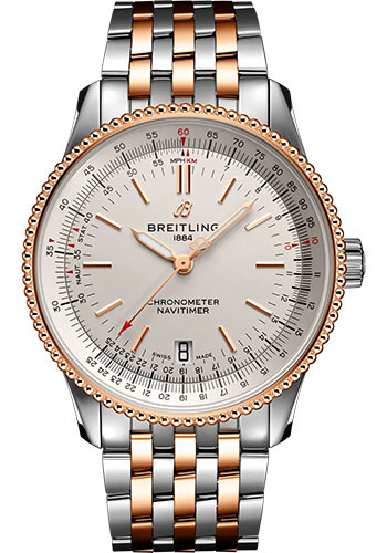 Breitling Watches - Navitimer Automatic 38mm - Steel and Red Gold - Style No: U17325211G1U1