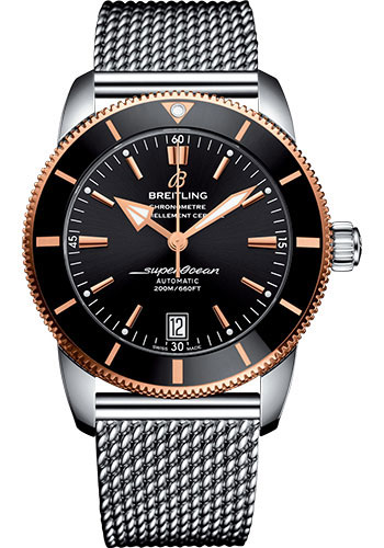 Breitling Watches - Superocean Heritage II B20 42mm - Steel and Red Gold - Style No: UB2010121B1A1
