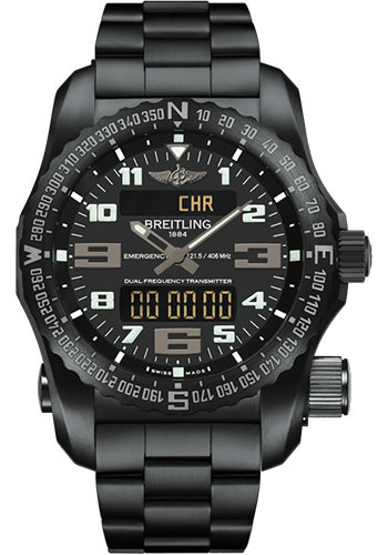 Breitling Watches - Emergency Black Titanium - Professional Bracelet - Style No: V7632522/BC46/159V